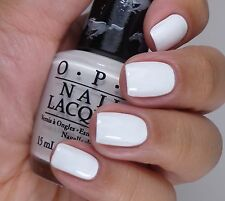 OPI Nail Polish ANGEL WITH A LEADFOOT Ford Mustang Collection White Creme