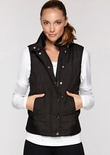 Brand New Current Lorna Jane Size 10 12 Fully Lined High Quality Vest Jacket