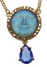 KIRKS FOLLY SEAVIEW MOON TEARS NECKLACE - blue heaven  NEW!