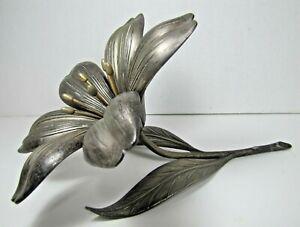 S AGUDO Old Flower Petal Trays Ashtrays Decorative Functional Artwork