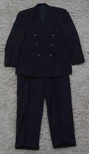 Anzug Kolossa Robert Red Gr 50 Blau - Jacke Hose Herren Herrenanzug H121