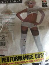 Lady Gaga Video Music Awards Performance Outfit,White,Small Costume NIP