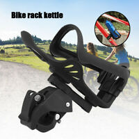 Bicycle Water Bottle Cage Clamp Clip Bike Cycling Kettle Handlebar Bracket Mount
