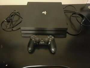 Sony PlayStation 4 Pro 1TB Console - Black [No original box].