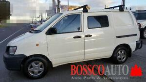Black ROOF RACKS suitable for Toyota Townace / Spacia