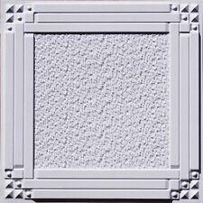 """Faux Tin Ceiling Tile DIY Home Improvement 24""""x24"""" #209"""