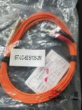ST to LC - 62.5/125-2M duplex multimode fiber jumper cable
