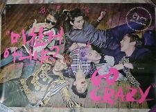 Korea IDOL 2PM Vol. 4 Go Crazy 2014 Taiwan Promo Poster