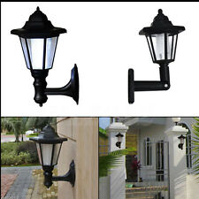 LED Light Path Way Wall Landscape Mount Garden Fence Outdoor  Light sensor Lamp