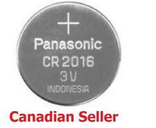 1 Pcs New Panasonic CR2016 2016 ECR2016 3V Button Coin Cell Battery Genuine