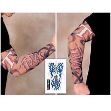 Texas Rangers Arm Tattoo Sleeve, Unisex, Adult Size