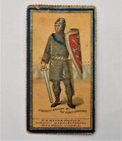 1888 N303 Mayo Costumes of Warriors & Soldiers Tobacco Card - French Knight