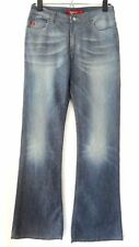 Miss Sixty Jeans Boot Cut Size 28 x 31 Womens Basic Italy Rare Whiskers Stretch