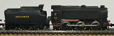 More details for southern q1 class 060 tender loco body b19 unpainted n gauge scale models kit