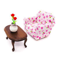 1:12 Dollhouse Miniature Teatable Coffee Table Living Room  Furniture T GwJCAU