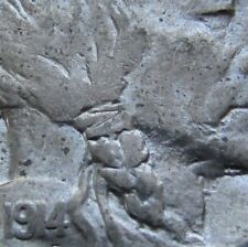 1914/(3) Buffalo Nickel Overdate FS-101 in a SAFLIP® - AU++