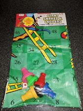 Snakes & Ladders Games plastic mat outdoor fun picnic fair wedding party travel