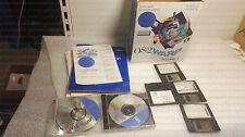 IBM OS/2 Warp Version 4 CD + DISQUETTE