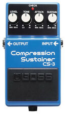 Boss Cs-3 Compression Sustainer Guitar Effects Foot Pedal 6mo 057498