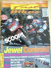 FAST BIKES MAGAZINE MAY 1994 JEWEL CONTROLS YAMAHA FZ5600R HONDA KAWASAKI SUZUKI