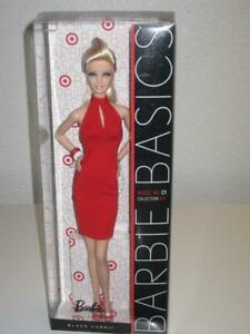 BARBIE BASICS COLLECTION RED, Model No. 01 Doll, 2010, Black Label, #V0334, NRFB