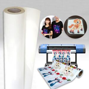 Printable PU Heat Press Transfer Vinyl Film T Shirts HTV Garment DIY Crafts Home