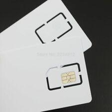 Sim Cards Progarmmable Blank LTE USIM 4G Card WCDMA GSM Blank Mini Nano Micro