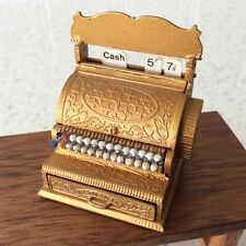 Dolls house miniature 1:12 STUNNING vintage shop till cash register