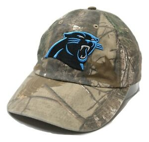'47 Carolina Panthers NFL Men's Realtree Camouflage Clean Up Adjustable Cap