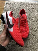 New Men's Nike Tiempo Legend 8 Elite FG Crimson Red Size 10 AT5293-606