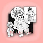 Vintage Rag Doll Susie Pattern