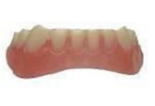 Instant Smile Teeth BOTTOM Photo Perfect ONE EXRTA PKG BEADS & FREE STORAGE CASE