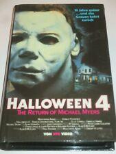 VPS Video - Halloween 4 - VHS/Horror/Donald Pleasence/Danielle Harris/Hartbox
