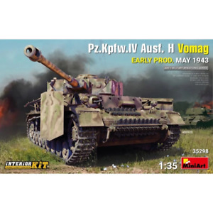 MiniArt 35298 1/35 Pz.Kpfw.IV Ausf. H Vomag Early Prod May 1943 Plastic Model Ki