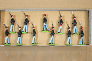 LITTLE WARS 224 the ITALIAN INFANTRY 1904 MARCHING at the SLOPE nj