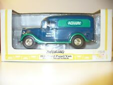 ERTL AGWAY 1936 FORD PANEL VAN DIE CAST METAL VEHICLE 1/25 SCALE