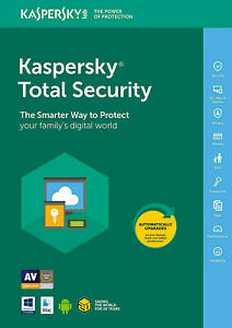 Kaspersky Total Security 2021 / 1 User / 1 Year / Global / Mac, Windows ,Android