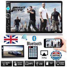 "7"" Double Car Stereo MP5/ MP3 Player Radio 2 Din BT USB/TF/AUX FM Head Units NEW"