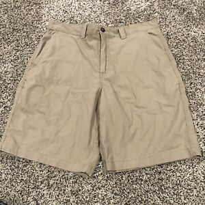 MAGELLAN OUTDOORS MENS BEIGE SHORTS SIZE 34W see desc (AC9)