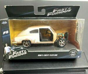Jada Dom's Chevy Fleetline Primer Grey Die Cast 1:32 Chevrolet Collectors Series
