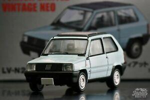 [TOMICA LIMITED VINTAGE NEO LV-N239a 1/64] FIAT PANDA 1000CL (Light blue)