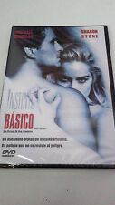 "DVD ""INSTINTO BASICO"" PRECINTADO SEALED PAUL VERHOEVEN SHARON STONE MICHAEL DOUG"