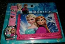 Frozen Children's Watch Wallet Set For Kids Boys Girls Christmas Gift