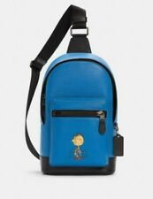NWT C4151 Coach X Peanuts West Pack with Pig Pen, MSRP $378