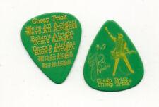 Rick Nielsen Cheap Trick Show Used Signature Guitar Pick, Green