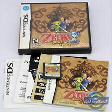 New Legend of Zelda Phantom Hourglass Nintendo DS Game NDS 3DS New USA Ver.