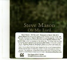 (DP394) Steve Mason, Oh My Lord - 2013 DJ CD