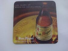INDONESIA Beer Mat Coaster SAN MIGUEL 120 Years Brewing Excellence One Beer 2013