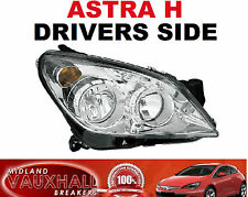 VAUXHALL ASTRA H HEADLIGHT HEADLAMP CHROME DRIVERS OFF RIGHT SIDE CDTI VAN HATCH