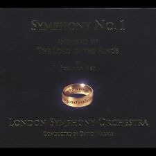 Symphony No. 1: Inspired By The Lord Of The Rings Autographed David Warble CD